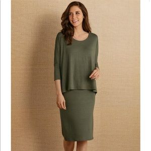NWT. Soft Surroundings Perfect Layer Dress.